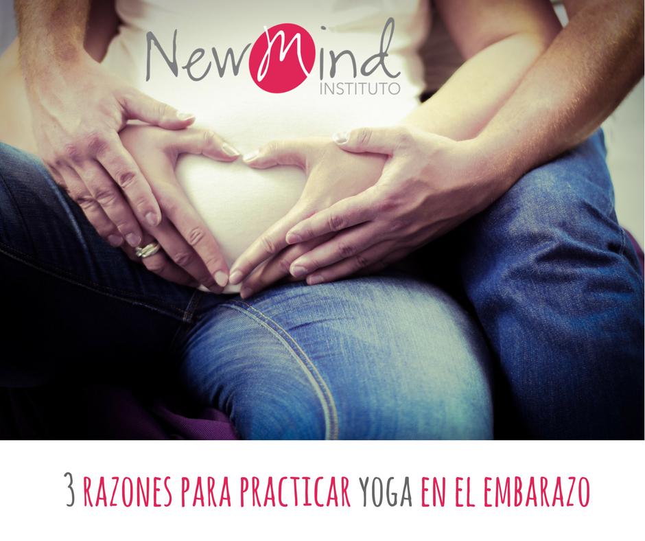 razones para practicar yoga en el embarazo