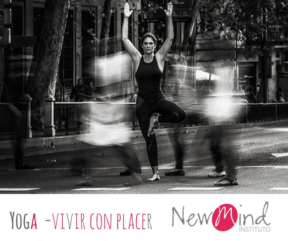 yoga para vivir con placer